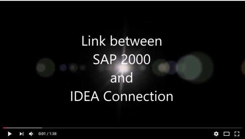 link idea e sap2000