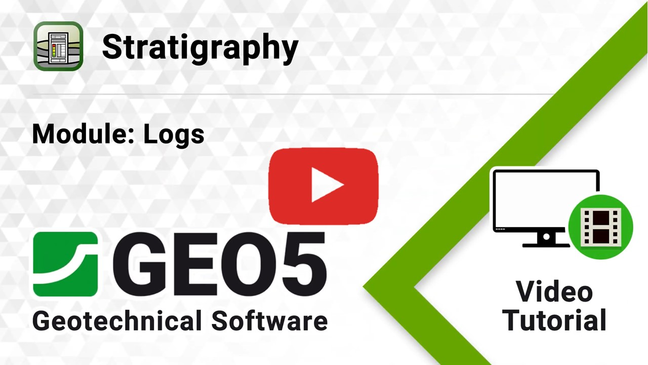 Video GEO5 Stratigrafia-Registro
