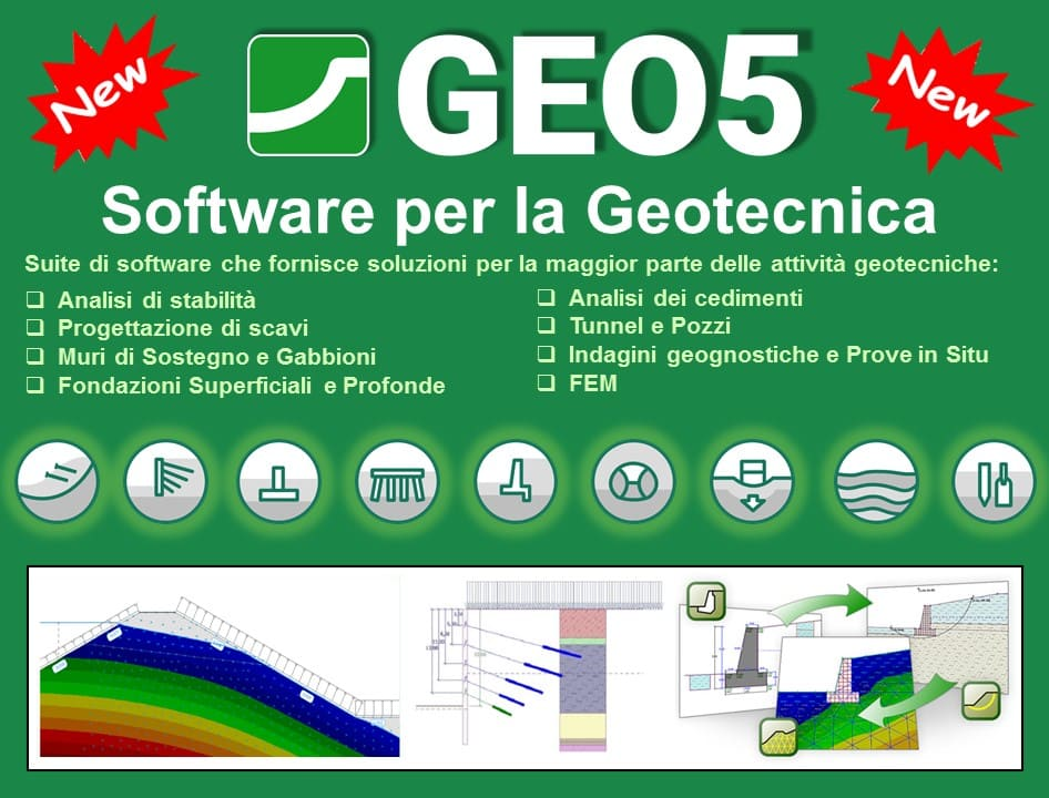 Software di calcolo per la geotecnica