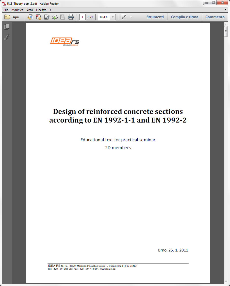Design of reinforced concrete sections