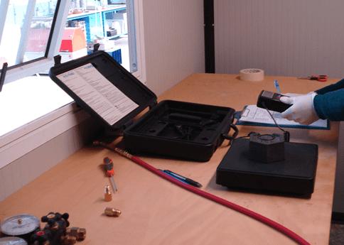 taratura fgas strumenti di misura