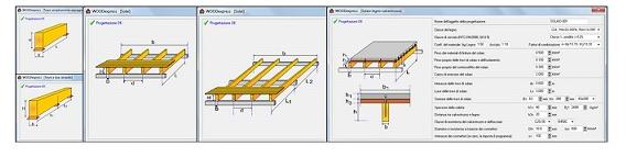 Calcolo soppalco acciaio terminali antivento per stufe a for Soppalco in legno lamellare