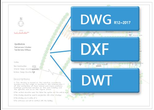 lavora con dwg qualsiasi versione